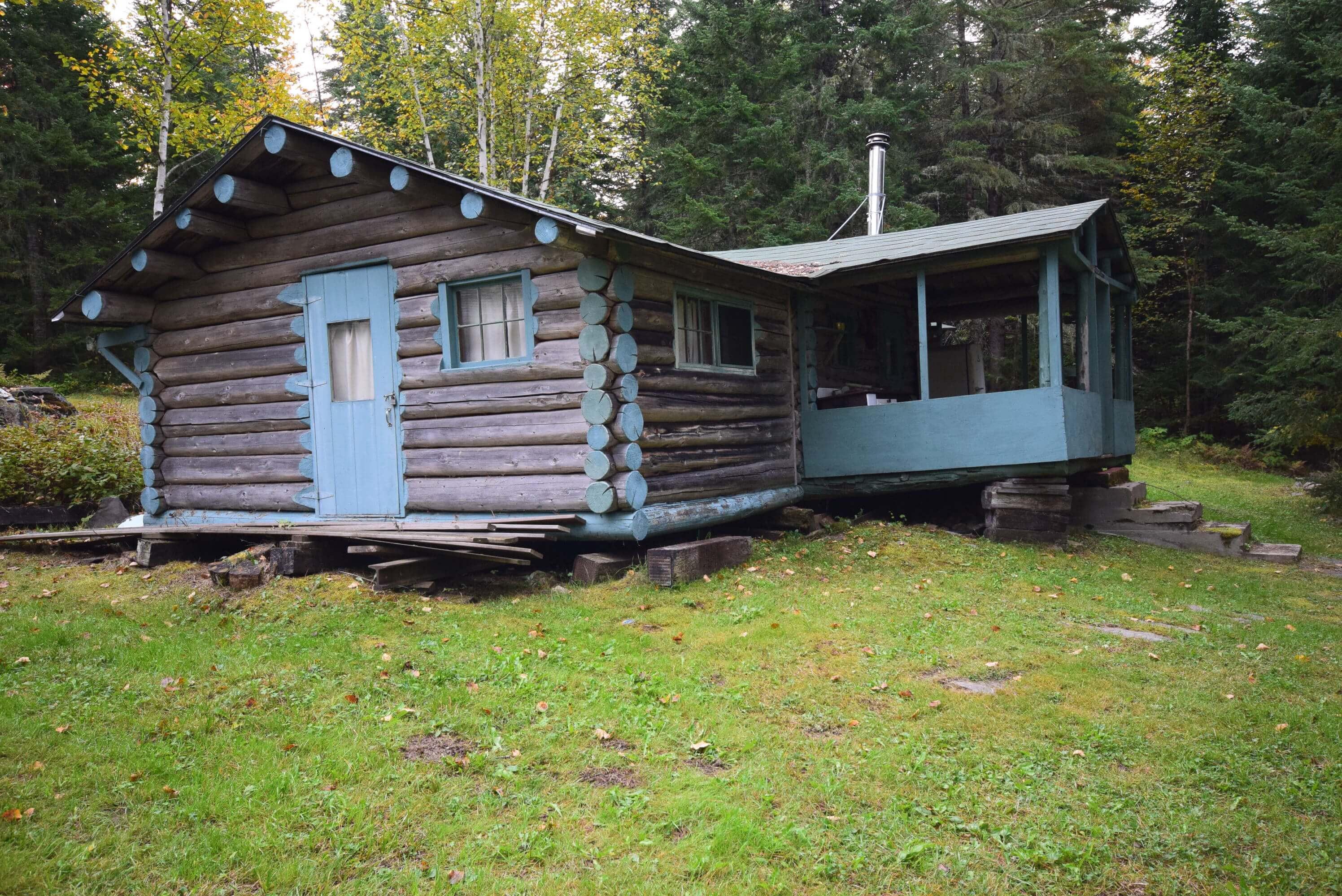 front lake maine uc rustic sale cabins properties aroostook hunting acres