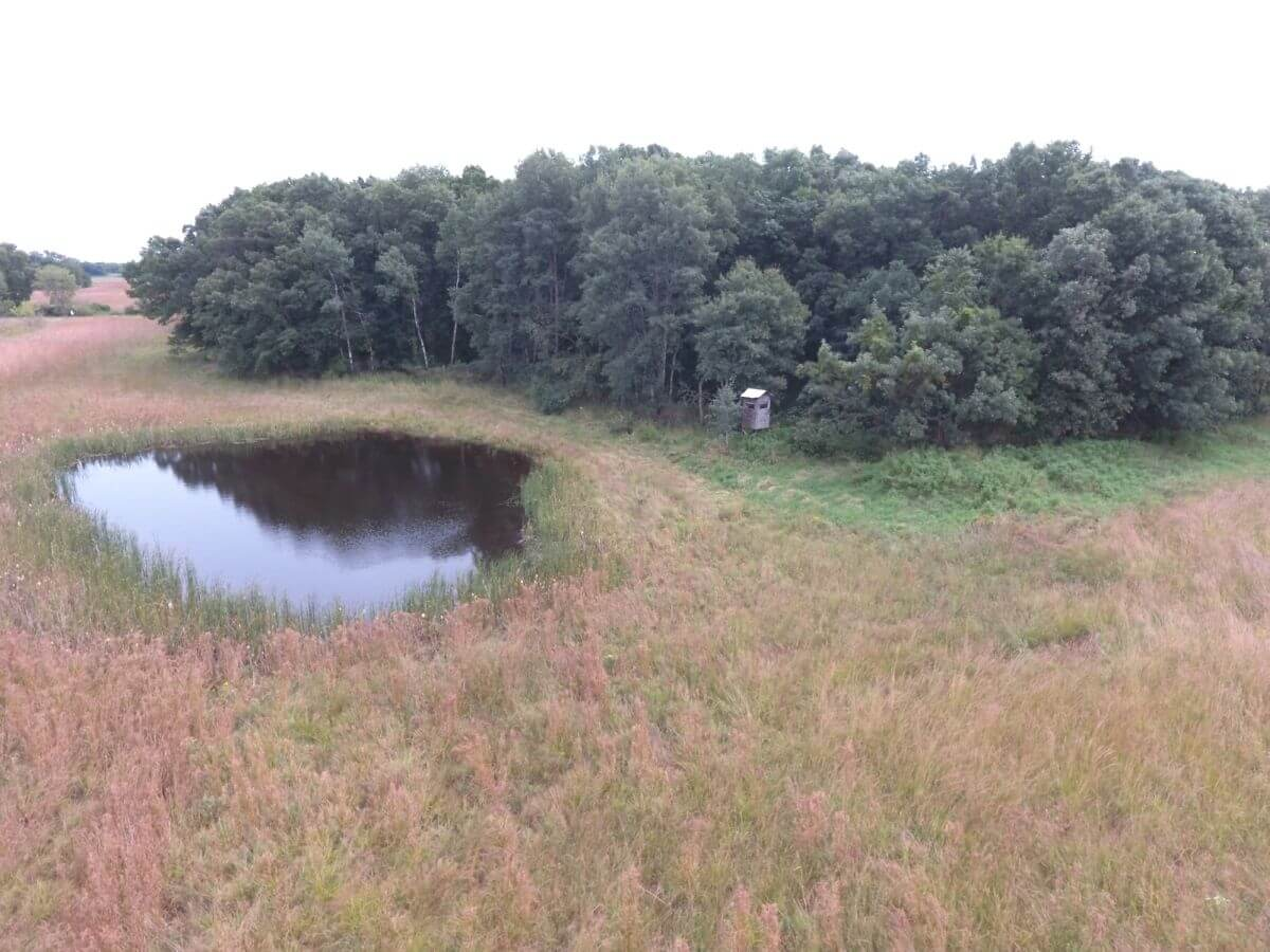 Whitetail & Waterfowl Hunting with Build Site Marquette County