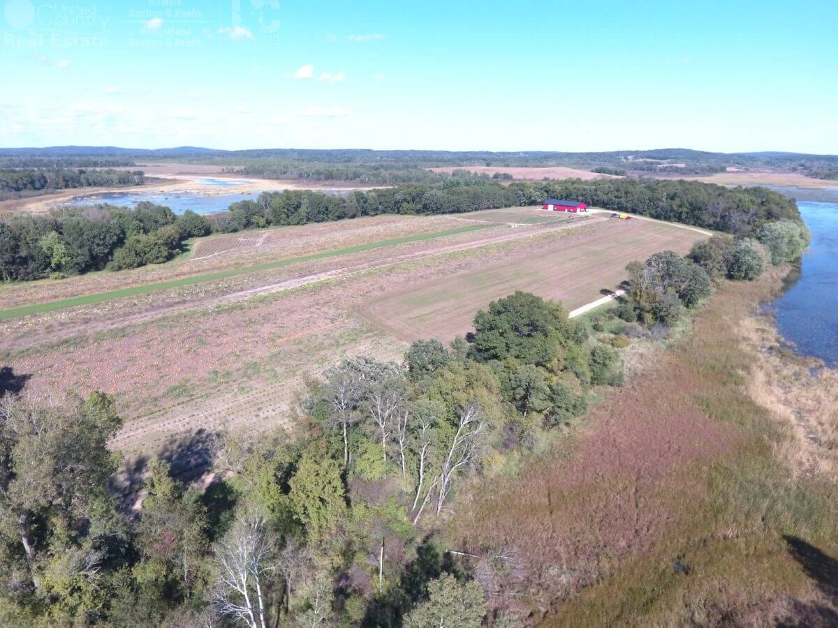 80 Acres of Columbia County Land with Water Frontage, Shed and Beautiful Home Site