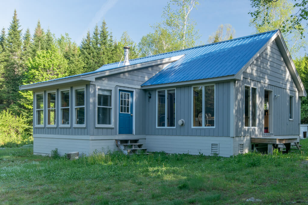 North Maine Woods Cabin For Sale