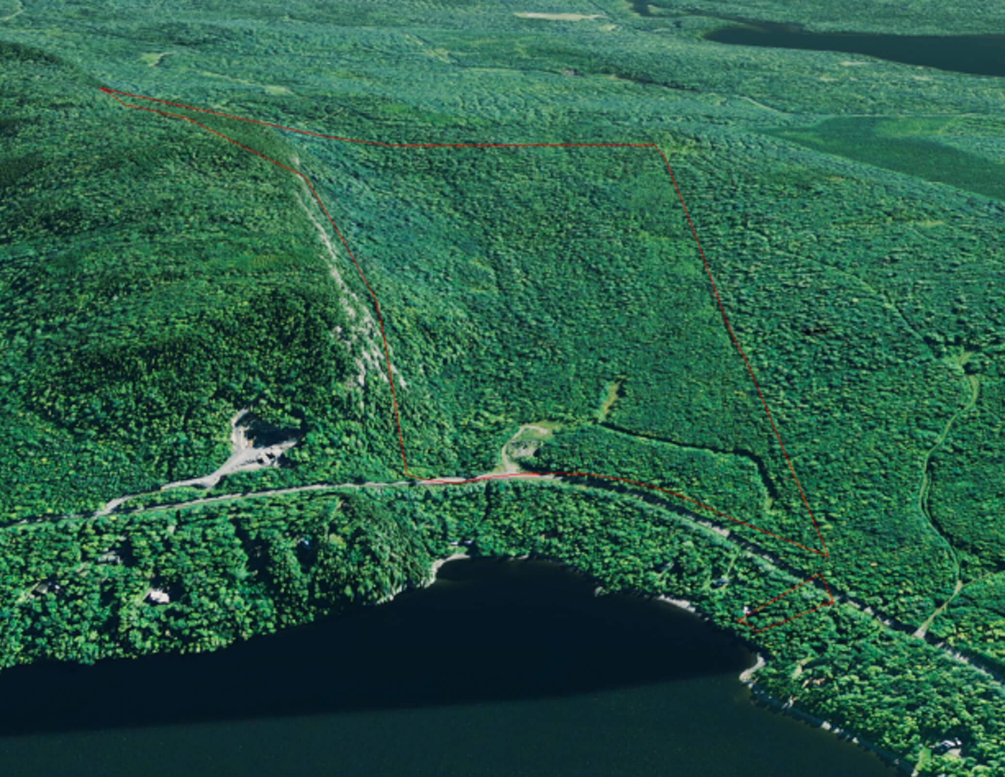 Brassua Lake Views – Maine Land