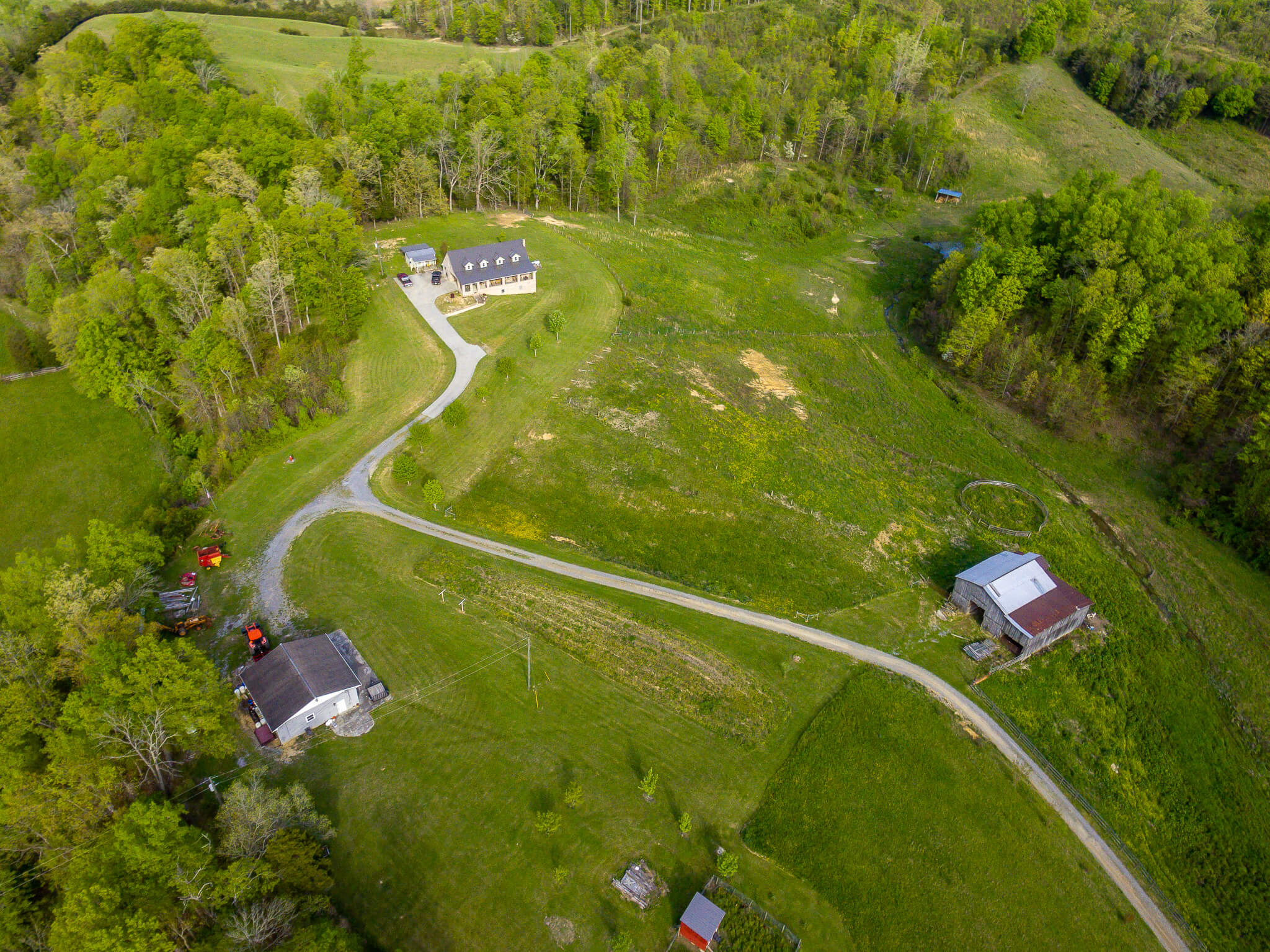 East Tennessee Country Home and Farm For Sale Bulls Gap TN