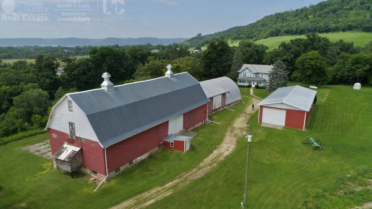 Charming Farmstead with Trophy Hunting Land Minutes from La Crosse, Wisconsin