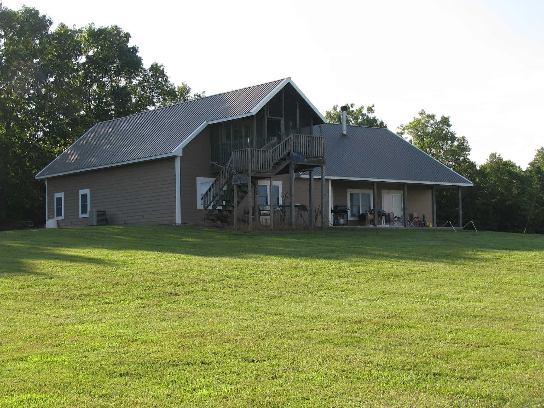 SPRINGS – PONDS – PASTURE – WOODS – CUSTOM HOME