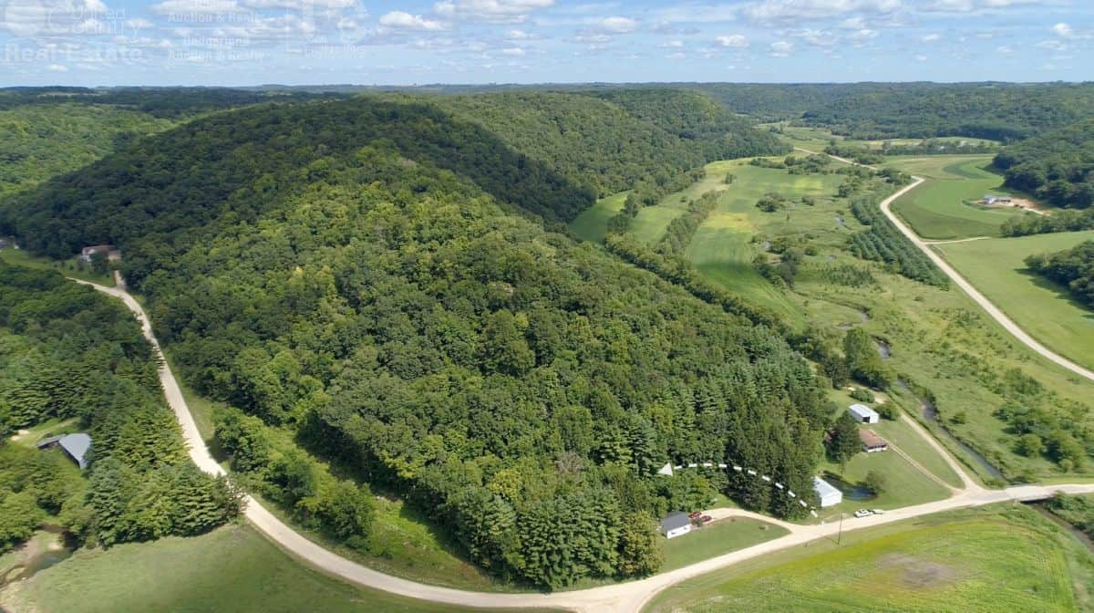 Hunting Land with Trout Pond For Sale in Richland County