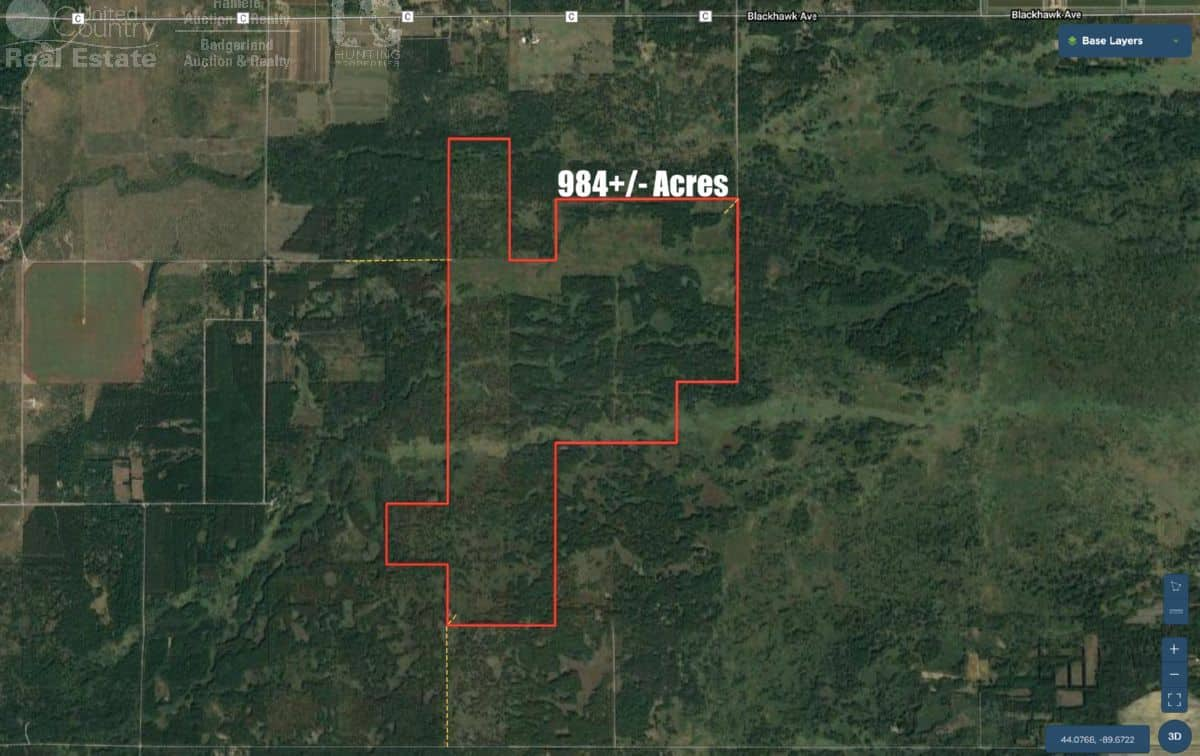 Colossal Land Tract For Sale in Adams County, WI