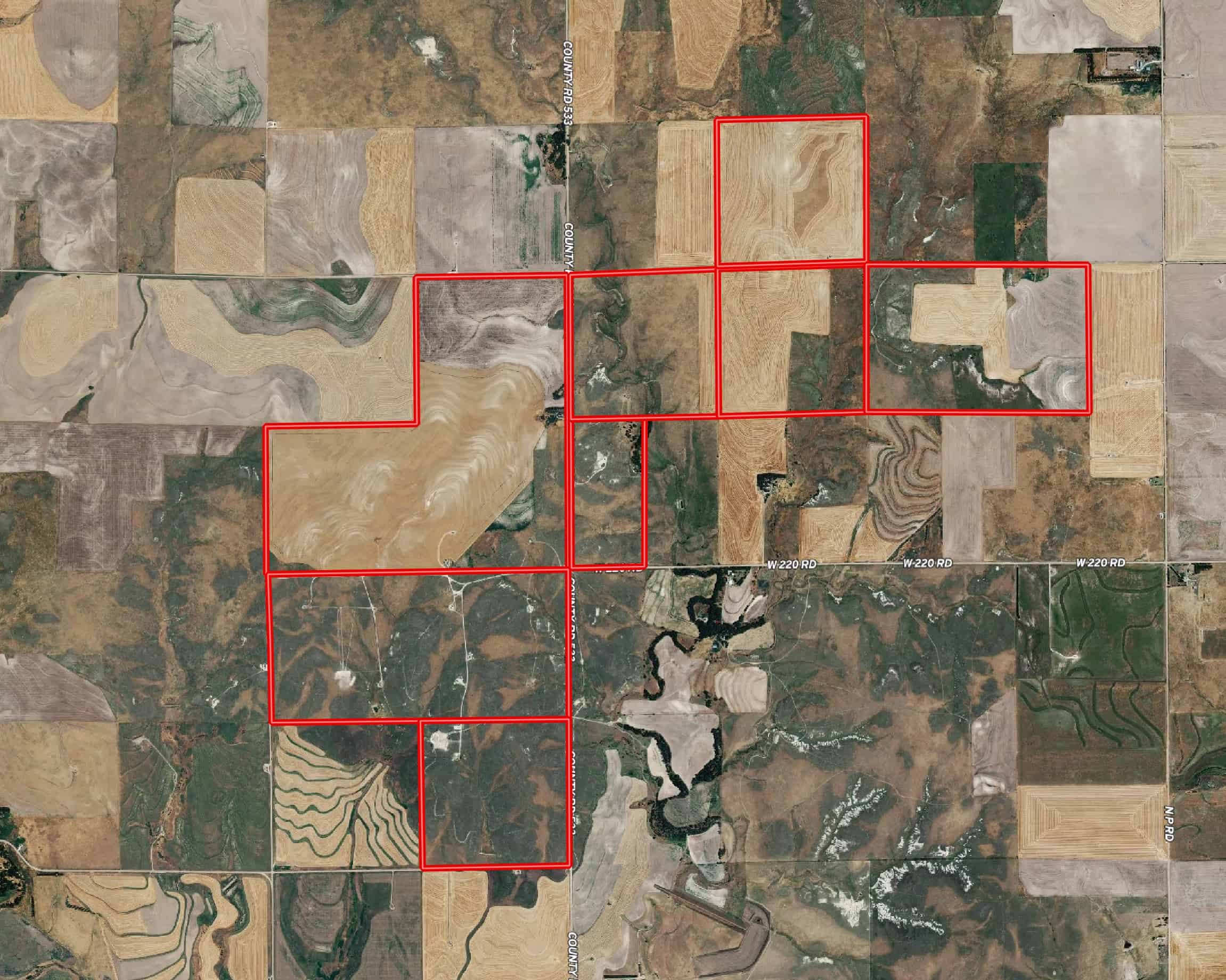 Crop and Grass Land For Sale in Western Kansas