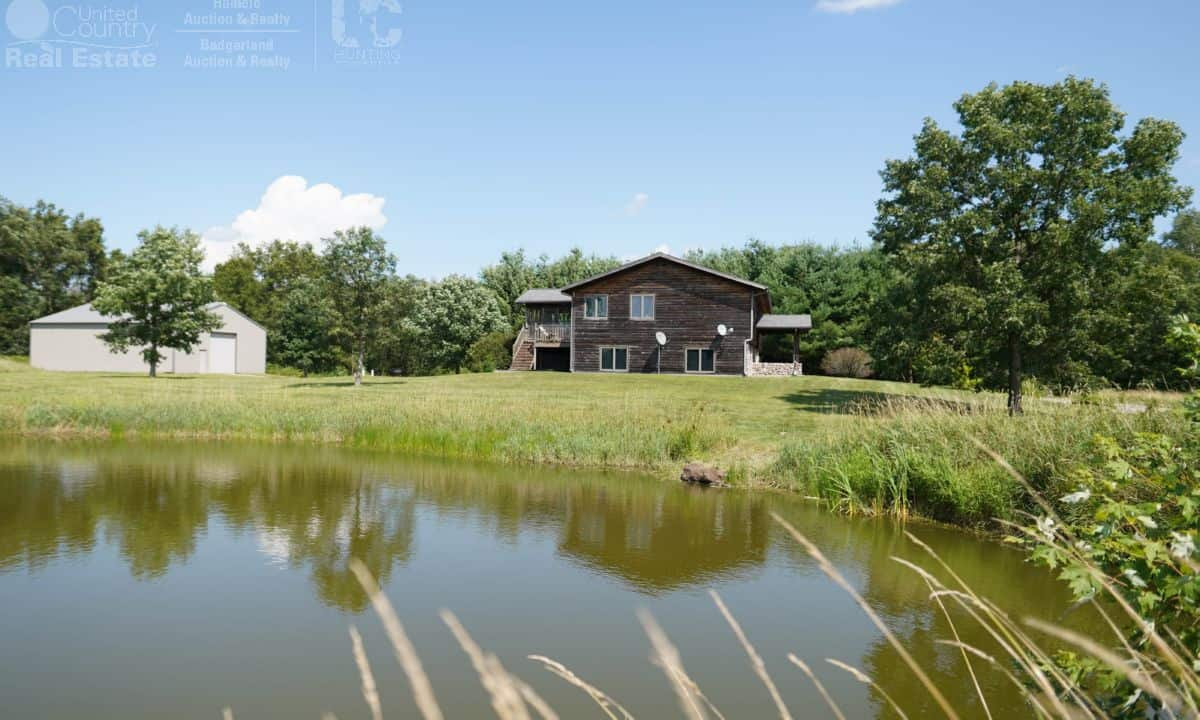35 Acre Columbia County Country Home for Sale