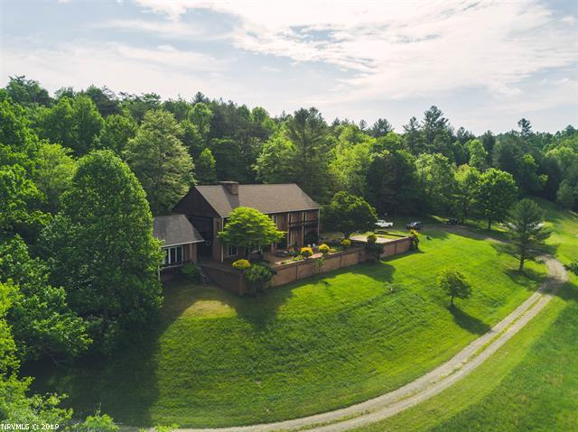 Mountain Home with River Frontage for Sale in Floyd VA