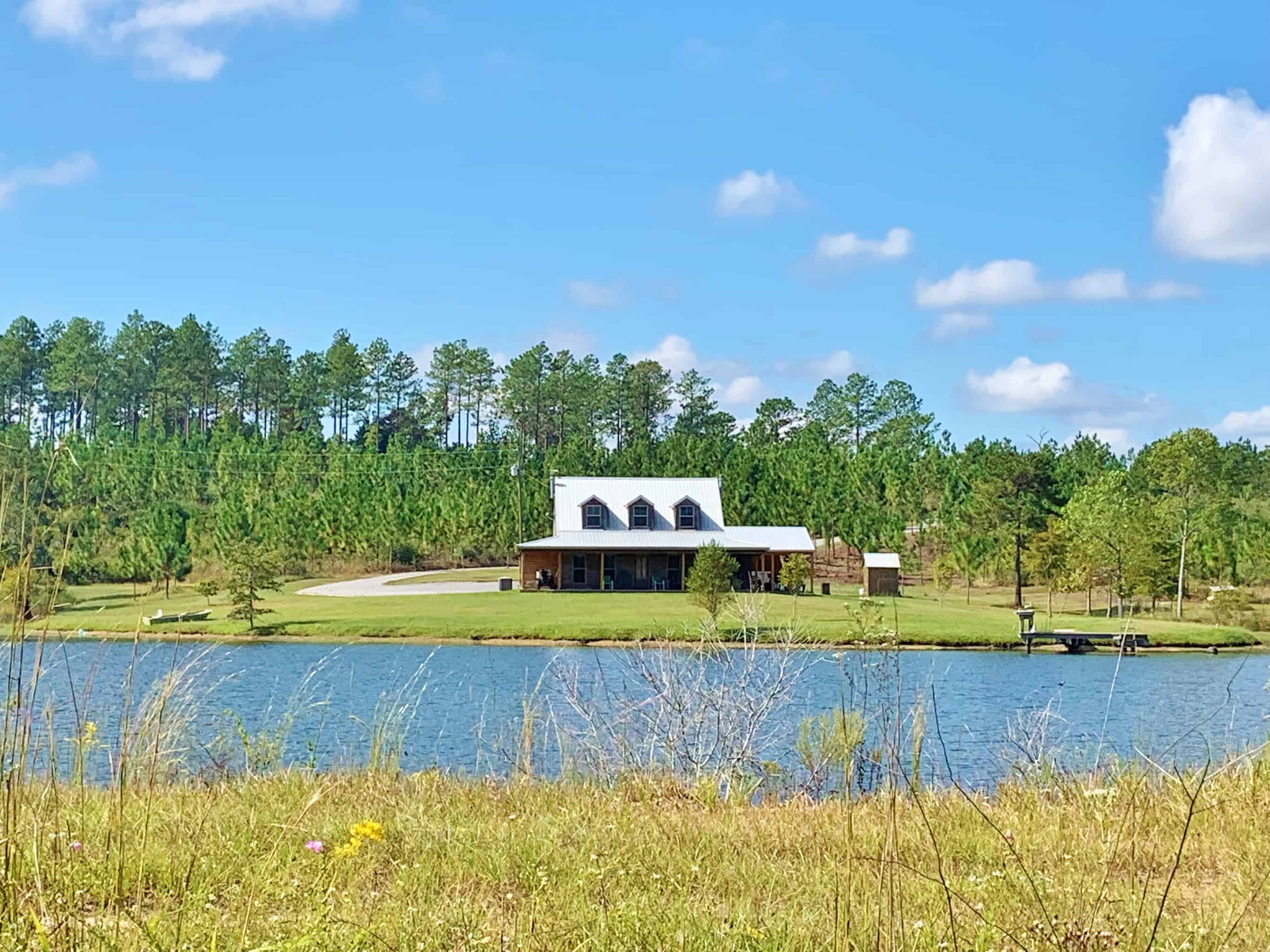 Hunting Lodge, 320 Acres Land for Sale Greene County, MS