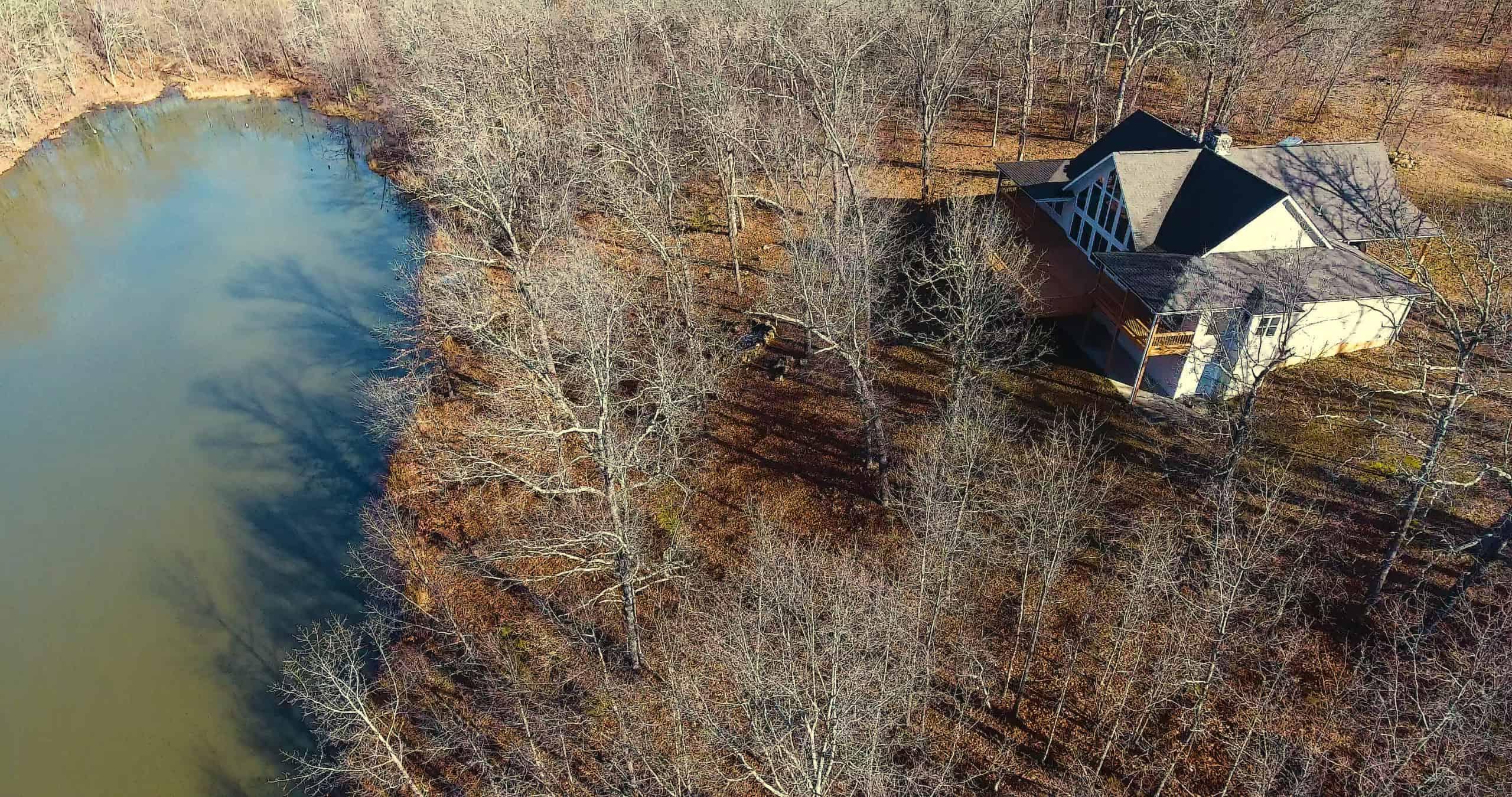 Private, Spring Fed Ponds, Marketable Hardwood Timber, Custom Home, Joins National Forest