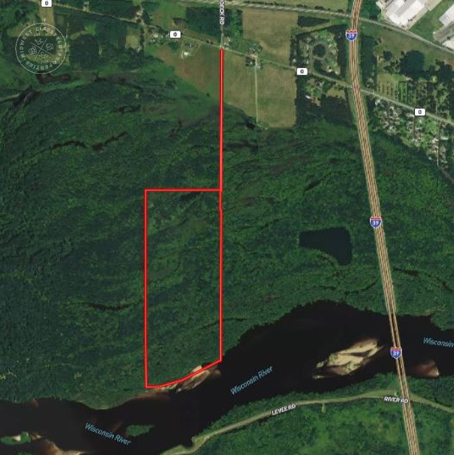 87 Acres of Wisconsin River Bottoms Columbia County