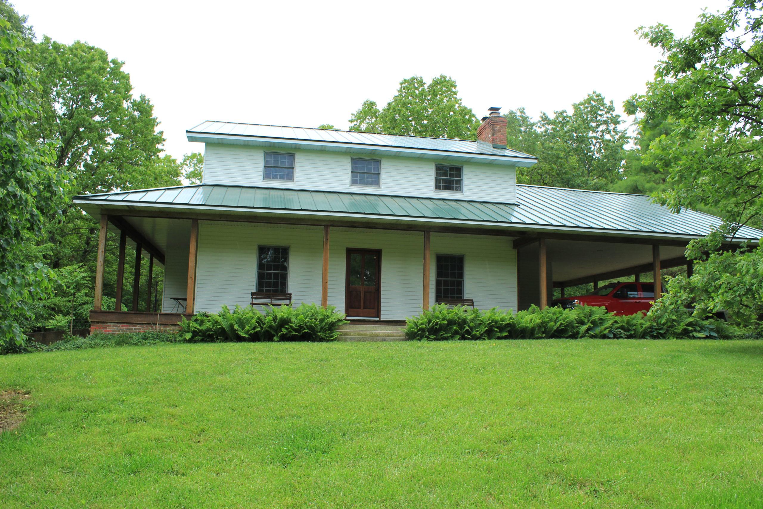 South Central Missouri Hobby Farm, Modern Farmhouse, Arboretum