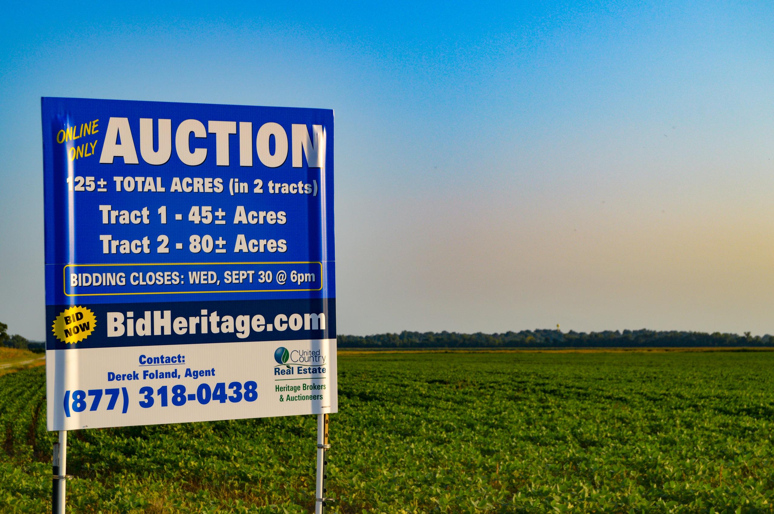 Missouri River Farm Online Auction