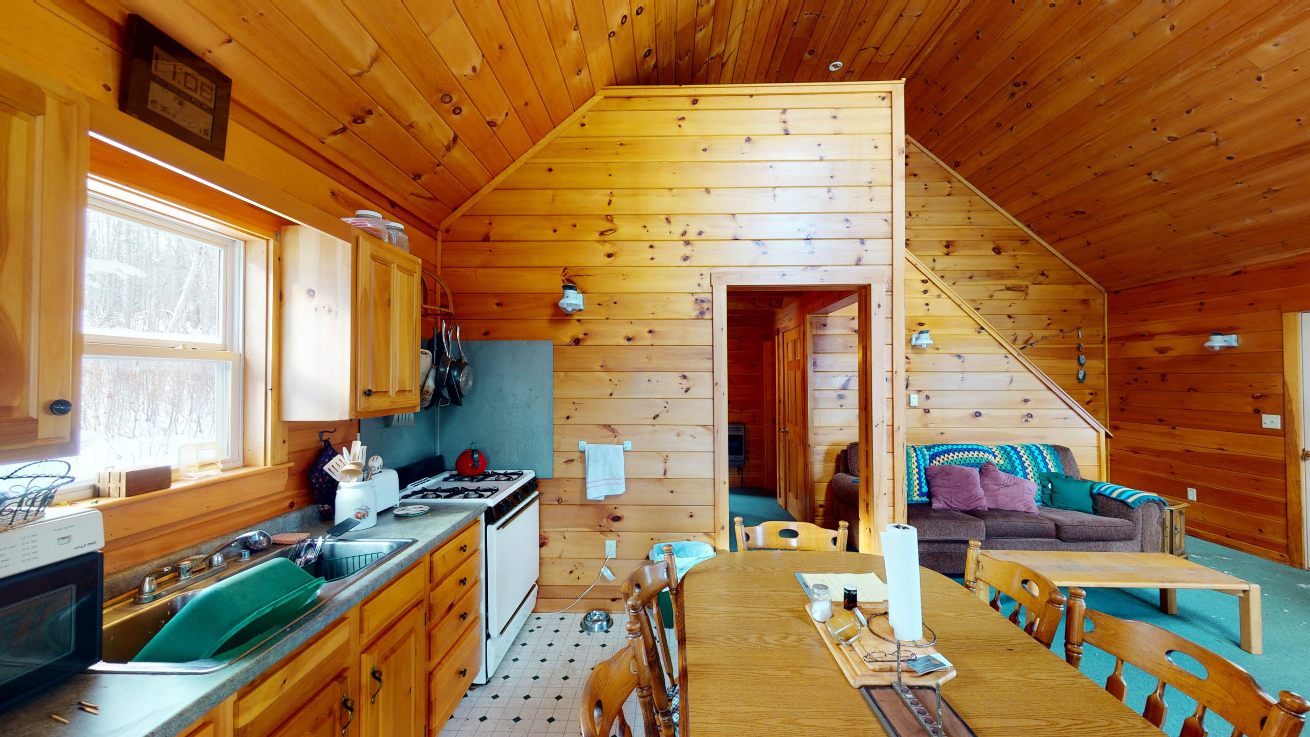 Maine Mountain Cabin For Sale