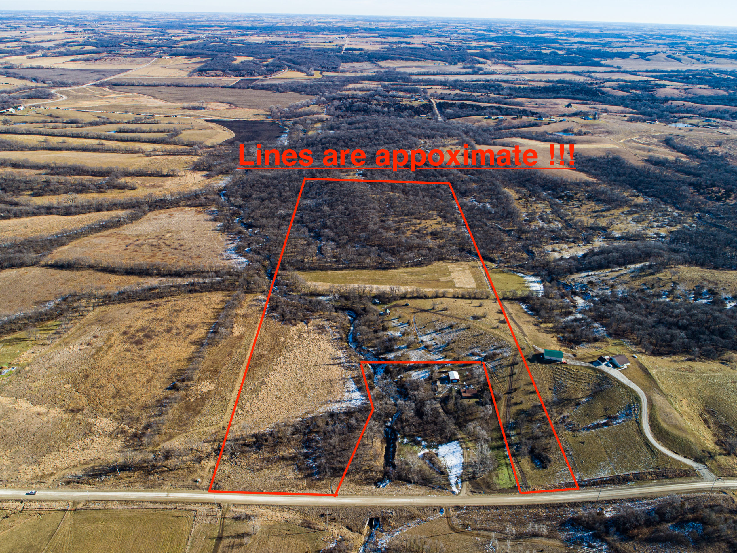 52 Acres of Premium Hunting/ Building location in Southern Iowa