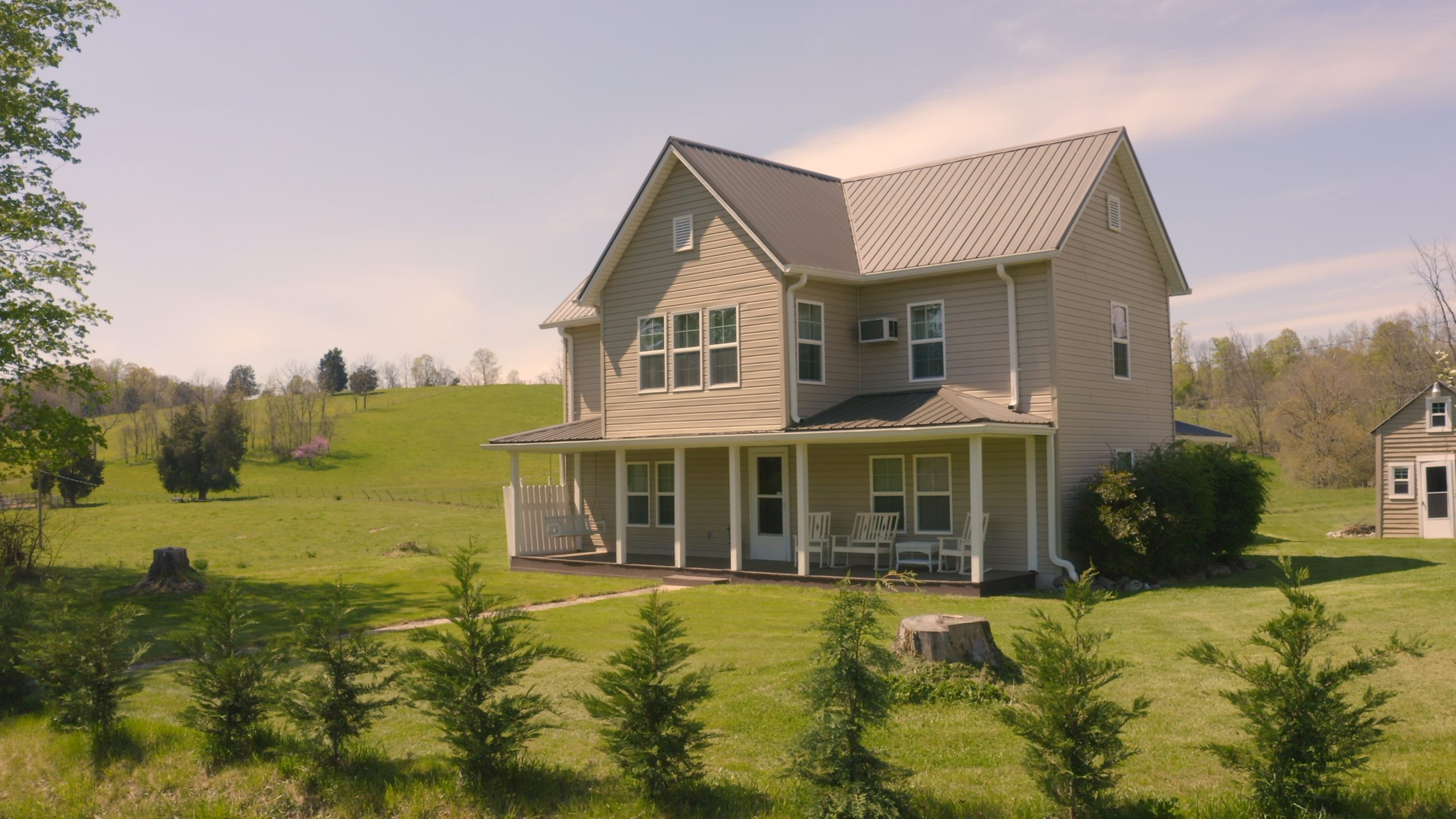 EAST TN HOME And ACREAGE FOR SALE- WORKING FARM WITH LOW TAXES