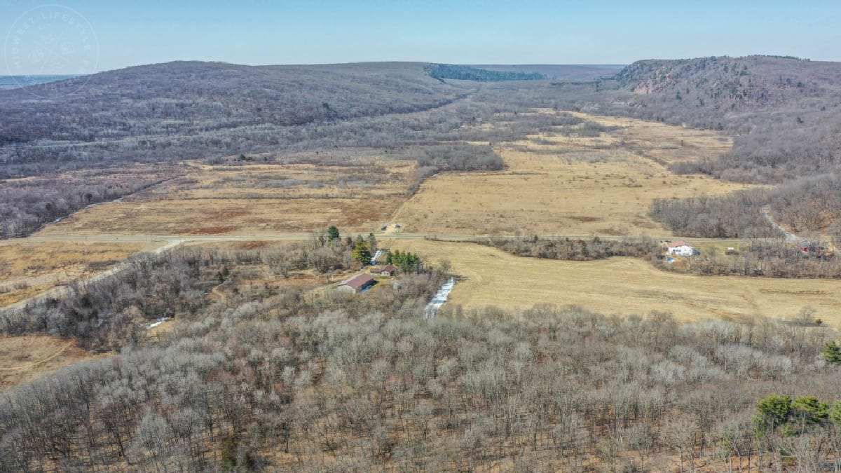 41+/- Acres of Hunting property located in Merrimac, County of Sauk, Wisconsin