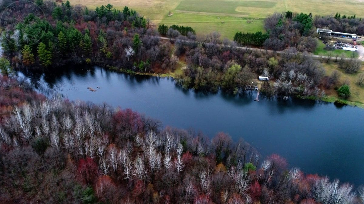 Land for Sale Waushara County with Private Lake
