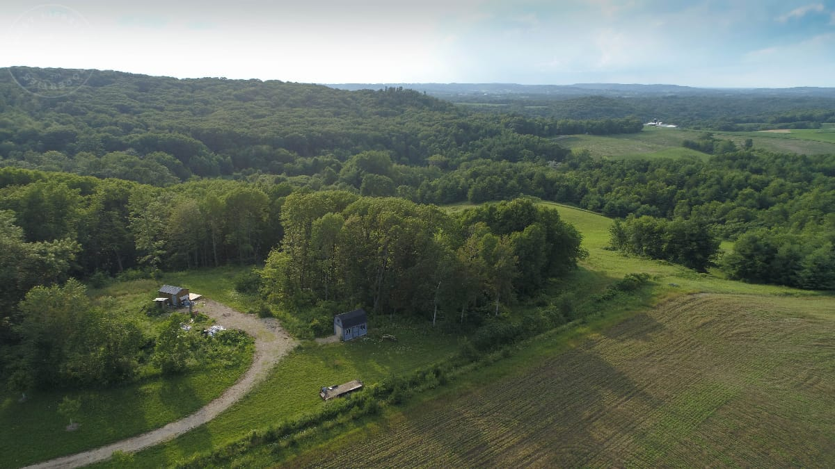 Scenic Hunt Camp in Monroe County, WI