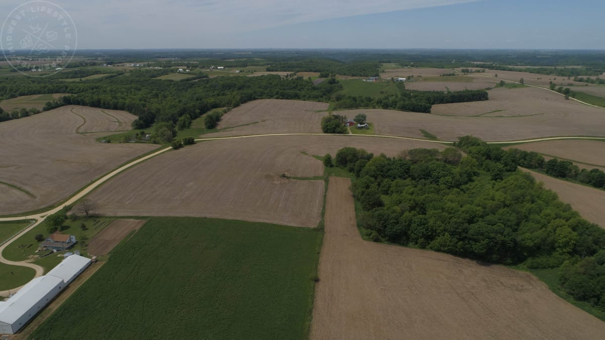 Superior Row Crop Land For Sale in Southwest Wisconsin