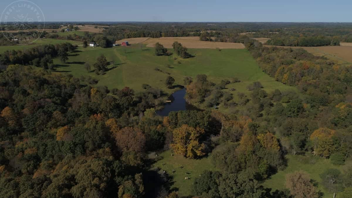 Ridgetop Homestead for Sale in Richland County, WI