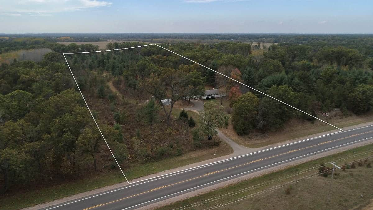 Home with Hunting Land for Sale in Adams County, WI